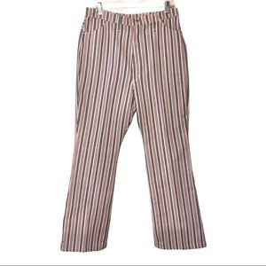 Vintage 70s/80's striped wranglers size::20 misses